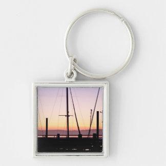 Morro Bay Sunset Keychain