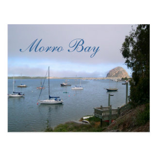 Morro Bay Travel Postcard