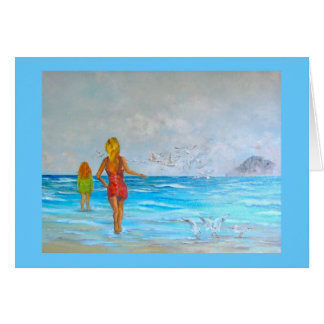 """Morro Bay Wind and Surf"" by C. Sessarego Card"
