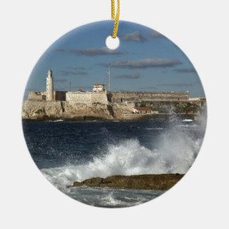 Morro Castle Ceramic Ornament