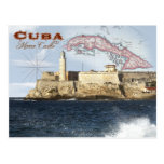 Morro Castle (Fortress), Havana, Cuba Postcard