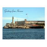 morro castle greetings postcard