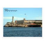 morro castle havana postcard