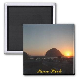 Morro Rock 2 Inch Square Magnet