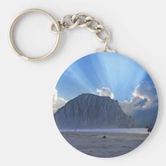 Morro Rock and Horses Keychain