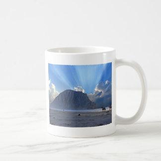 Morro Rock and Horses Mugs