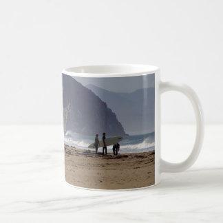 Morro Rock Beaches Surfers Classic White Coffee Mug