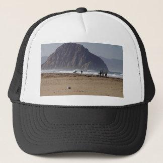 Morro Rock Beaches Surfers Trucker Hat