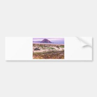 Morro Rock Dunes at Sunset Bumper Sticker