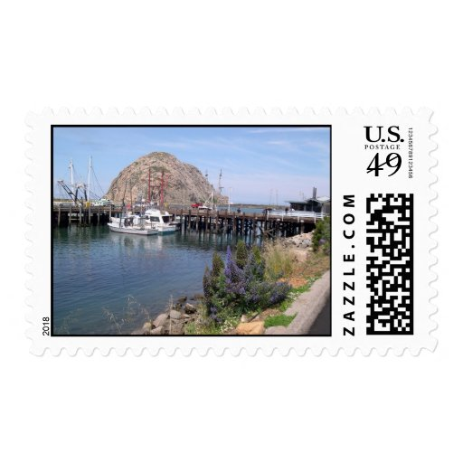 Morro Rock Postage Stamps
