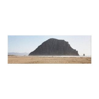 Morro Rock wrapped canvas