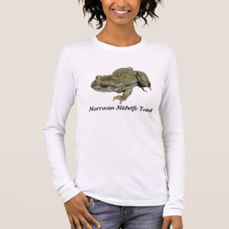 Morrocan Midwife Toad Long Sleeve T-Shirt