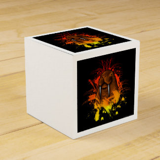 Morsa [caja] caja para regalos de fiestas