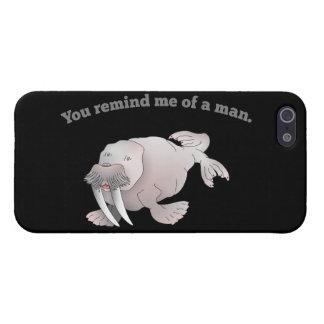Morsa de hombres iPhone 5 carcasas