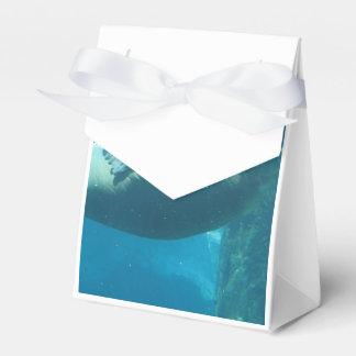 Morsa de la natación caja para regalos