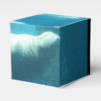 Morsa de la natación cajas para regalos de fiestas