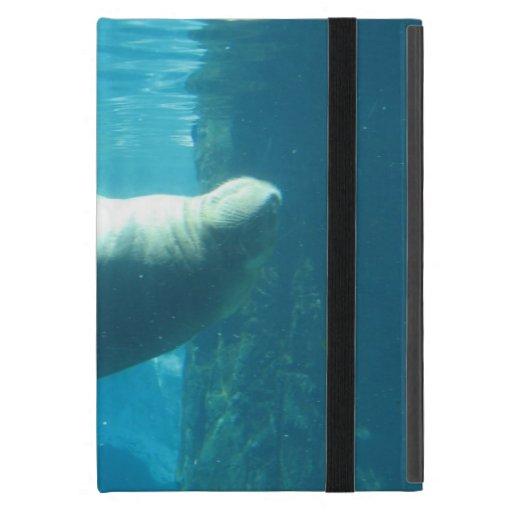 Morsa de la natación iPad mini protectores
