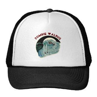 Morsa del zombi gorras de camionero