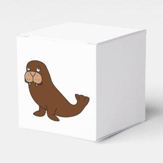 Morsa linda cajas para detalles de boda