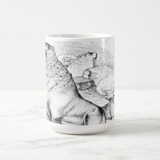 Morsa pacífica taza de café