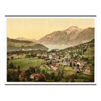 Morschach and Axenstein, Lake Lucerne, Switzerland Postcard