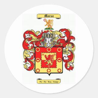Morse Classic Round Sticker