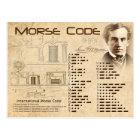 Morse Code Postcard