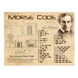 Morse Code Postcards