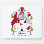 Morse Family Crest Mouse Pad