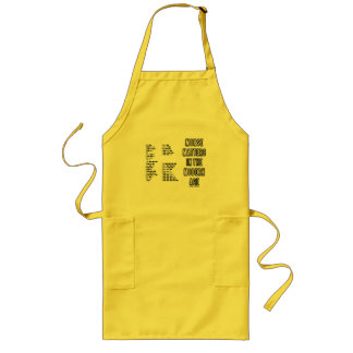 Morse Matters In The Modern Age (Morse Code) Long Apron