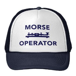 Morse Operator Hat Cap