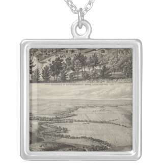 Morse's Ranche Chase County, Kansas Silver Plated Necklace
