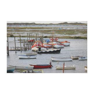Morston en la alta marea lienzo envuelto para galerías