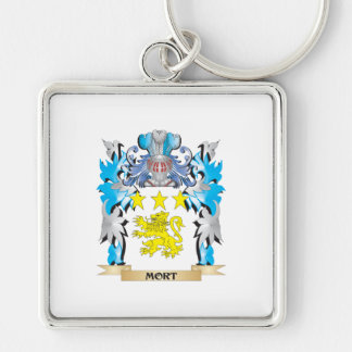 Mort Coat of Arms - Family Crest Keychain