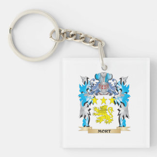 Mort Coat of Arms - Family Crest Acrylic Keychain