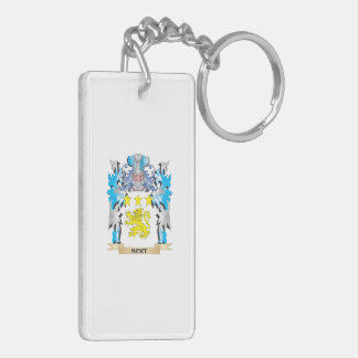 Mort Coat of Arms - Family Crest Acrylic Key Chain