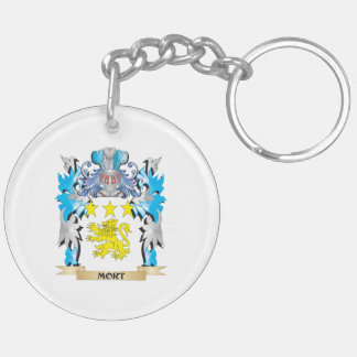 Mort Coat of Arms - Family Crest Keychains