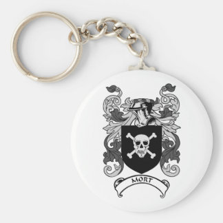 MORT Coat of Arms Keychain
