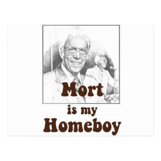 Mort es mi Homeboy Tarjeta Postal