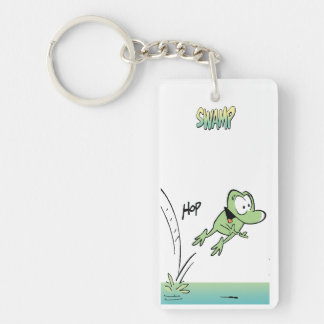 Mort The Frog Keychain