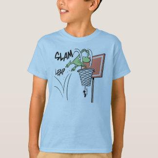 Mort The Frog Slam Dunk T-Shirt