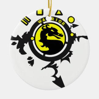 Mortal Gamer Gifts Ceramic Ornament