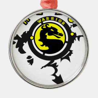 Mortal Gamer Gifts Metal Ornament