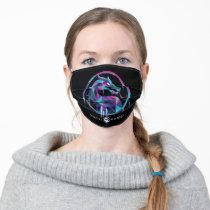 Mortal Kombat Polygonal Ice Logo Adult Cloth Face Mask