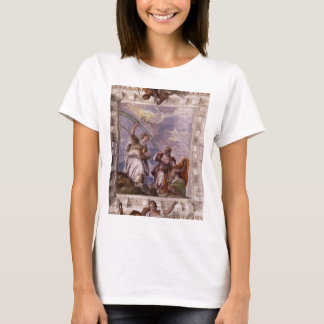 Mortal Man Guided to Divine Eternity Paolo Verones T-Shirt