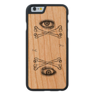 Mortal Mysteries Double the Danger Carved® Cherry iPhone 6 Slim Case