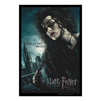 Mortal santifica - Bellatrix Lestrange 2 Poster