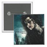 Mortal santifica - Bellatrix Lestrange 2 Pin Cuadrado