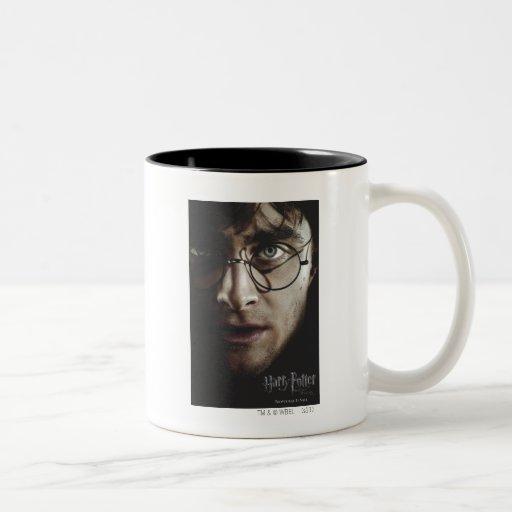Mortal santifica - Harry Potter Tazas De Café