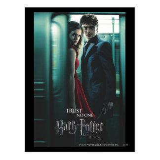 Mortal santifica - Harry y Hermione Tarjeta Postal
